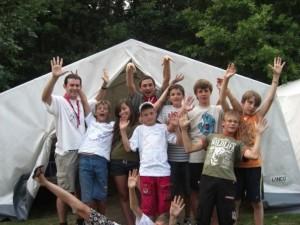 El último campamento en que fui profesor de tienda: Zinnowitz '09